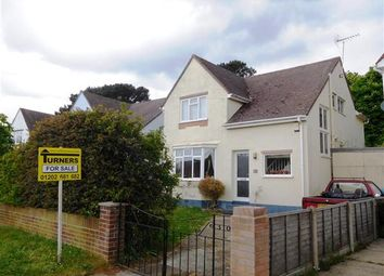 Thumbnail 3 bed detached house for sale in Lake Drive, Hamworthy, Poole