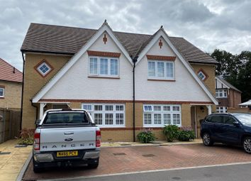 Thumbnail 3 bed semi-detached house for sale in Thomas Road, The Lawns, Aylesford