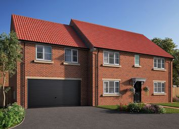"Thumbnail 5 bedroom detached house for sale in ""The Asenby"" at Station Road, Kirk Hammerton, York, Kirk Hammerton"