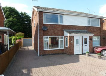 Thumbnail Semi-detached house to rent in Windsor Drive, Grantham