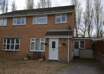 Thumbnail 3 bed semi-detached house for sale in Hanover Close, Worle, Weston-Super-Mare