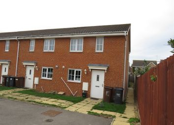 Thumbnail 3 bed end terrace house for sale in Powys Close, Corby