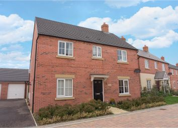 Thumbnail 4 bedroom detached house for sale in Parker Crescent, Sawtry, Huntingdon
