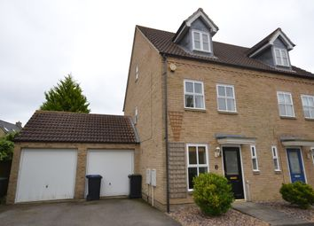 Thumbnail 3 bed town house to rent in Columbine Road, Ely