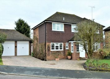 Thumbnail 4 bed detached house for sale in Leycester Close, Windlesham, Surrey