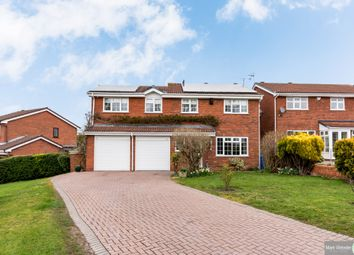 Thumbnail 4 bed detached house for sale in Blackwood Road, Two Gates, Tamworth