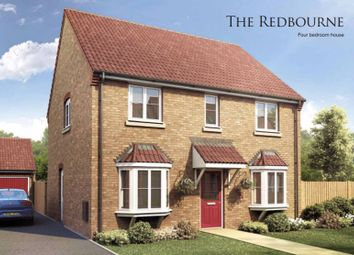 Thumbnail 4 bed detached house for sale in The Redbourne, Pinchbeck Fields, Wardentree Lane, Pinchbeck