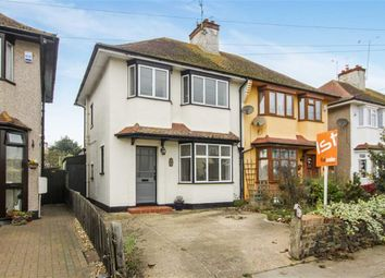 Thumbnail 3 bedroom semi-detached house for sale in Connaught Gardens, Shoeburyness, Essex