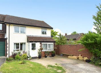 Thumbnail 3 bed semi-detached house for sale in Crecy Close, Wokingham, Berkshire