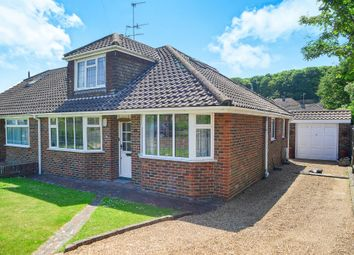 Thumbnail 3 bed semi-detached bungalow for sale in Meadow Close, Rottingdean, Brighton