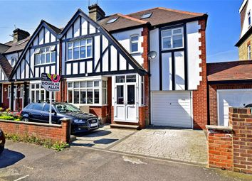 Thumbnail 4 bed semi-detached house for sale in Frinton Drive, Woodford Green, Essex