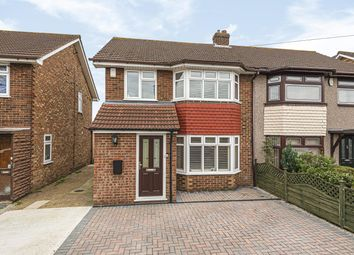 Thumbnail 3 bed semi-detached house for sale in Stephen Avenue, Hornchurch