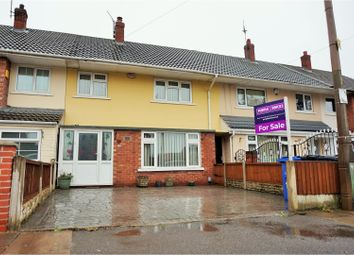 Thumbnail 3 bed terraced house for sale in Montgomery Gardens, Doncaster