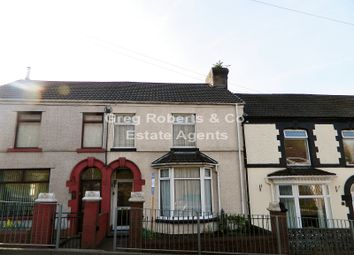 Thumbnail 3 bed terraced house for sale in Beaufort Road, Tredegar, Blaenau Gwent.