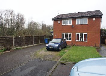 Thumbnail 2 bed semi-detached house for sale in Montrose Close, Fearnhead, Warrington