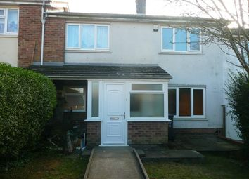 Thumbnail 3 bed terraced house to rent in Swinburne Road, Wellingborough
