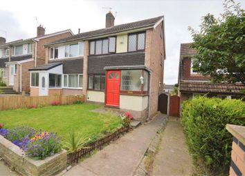 Thumbnail 3 bed semi-detached house to rent in Pleasington Close, Prenton