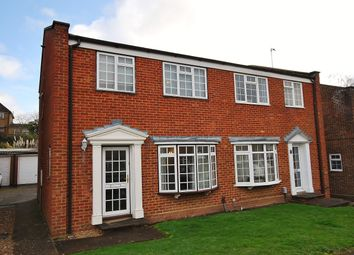 Thumbnail 4 bed semi-detached house to rent in Lynwood, Guildford