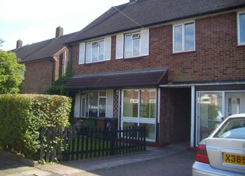 Thumbnail 3 bed terraced house to rent in Cades Close, Luton, Beds