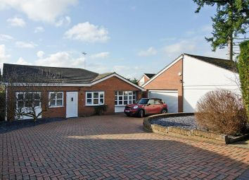 Thumbnail 4 bed detached bungalow for sale in Ashtree Close, Little Haywood, Stafford