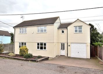 Thumbnail 3 bed detached house for sale in Barnston, Dunmow, Essex