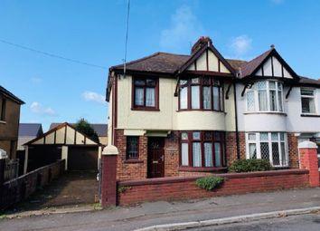 Thumbnail 3 bedroom semi-detached house for sale in Bracken Road, Margam, Port Talbot, Neath Port Talbot.