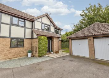 Thumbnail 4 bed detached house for sale in Gresham Drive, West Hunsbury, Northampton