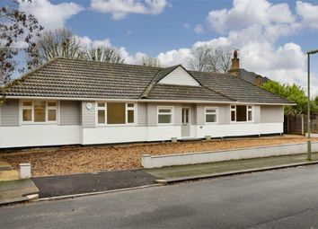 Thumbnail 4 bed detached bungalow for sale in Ashdown Road, Epsom, Surrey
