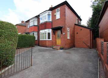 Thumbnail 3 bed semi-detached house to rent in Carr Avenue, Prestwich, Manchester