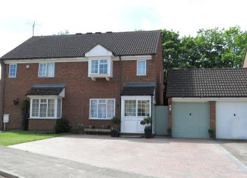 Thumbnail 4 bed semi-detached house for sale in Hawesmere Close, Biggleswade