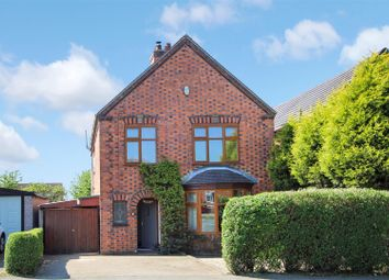 Thumbnail 3 bed detached house for sale in Leicester Road, Measham, Swadlincote