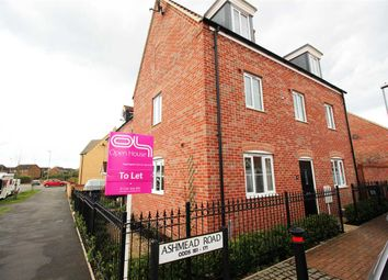 Thumbnail 6 bed shared accommodation to rent in Ribston Close, Bedford