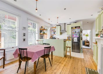 Thumbnail 3 bed flat for sale in Barnard Road, Battersea, London