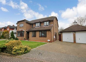 Thumbnail 5 bed detached house for sale in Newmeadow Copse, Peatmoor, Swindon