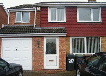 Thumbnail 4 bed semi-detached house to rent in Birch Close, North Hykeham, Lincoln