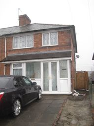 Thumbnail 3 bed semi-detached house to rent in Caldwell Road, Bordesley Green, Birmingham, West Midlands