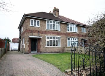 Thumbnail 3 bed semi-detached house for sale in Fulford Road, York