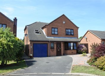 Thumbnail 5 bed detached house for sale in Birmingham Close, Grantham