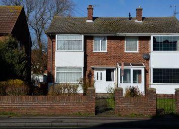 3 bed semi-detached house for sale in Langer Road, Felixstowe IP11