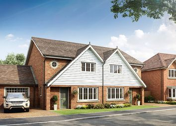 Thumbnail 3 bed semi-detached house for sale in Howlands Road, Marden