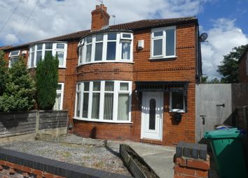 Thumbnail 4 bed semi-detached house to rent in Brookleigh Road, Withington, Manchester