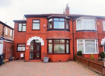 Thumbnail 4 bedroom semi-detached house for sale in Farley Avenue, Manchester