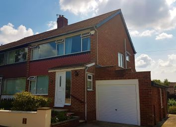 Thumbnail 3 bedroom semi-detached house for sale in Canton Gardens, Brookfield, Middlesbrough