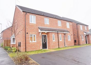 Thumbnail 3 bed semi-detached house for sale in Sovereign Gardens, Selston