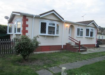 Thumbnail 1 bed mobile/park home for sale in Holy Acre, Roydon Marina Village, Roydon, Essex
