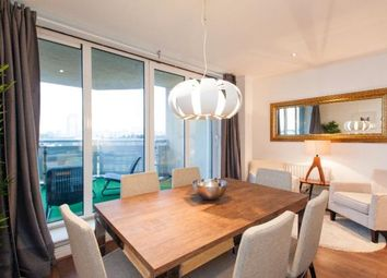 Thumbnail 3 bedroom flat for sale in Wards Wharf Approach, London E16, Pontoon Dock,