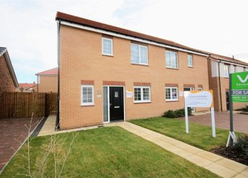 Thumbnail 3 bed semi-detached house for sale in Peerfields, Chilton, Ferryhill
