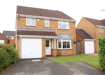 Thumbnail 4 bed detached house for sale in Gale Close, Lutterworth