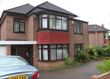 Thumbnail 4 bed detached house to rent in Sussex Ring, Woodside Park