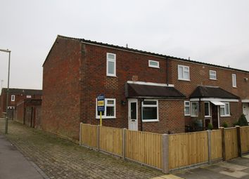 Thumbnail 3 bed end terrace house for sale in Malta Close, Basingstoke